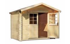 Ξύλινο σπίτι κήπου